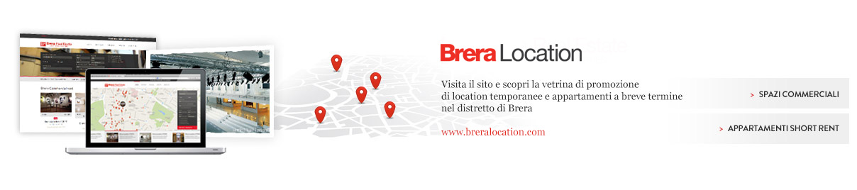 Brera Location - temporary spaces